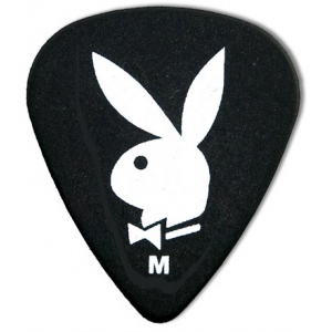 Steve Clayton™ Playboy Pick: Standard, Black, Medium, 12 Pieces