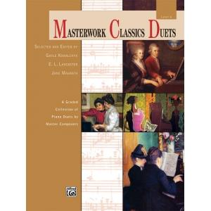 Alfred Music Masterwork Classics Duets: Level 6