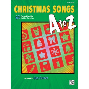 Alfred Music Christmas Songs A to Z: Book, Easy Piano