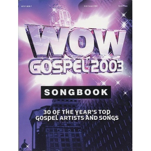 Alfred Music Wow Gospel 2003 Alfred Music
